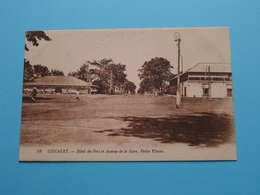 CONAKRY Hôtel De Ville Et Avenue De La Gare, Petite Vitesse ( 18 - Levy ) Anno 19?? ( Zie Foto's ) ! - Guinea
