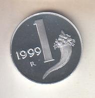ITALIA 1999 - 1  LIRA FONDO SPECCHIO - 1946-… : Republic