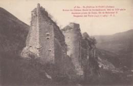 CPA - St Jean En Royans - Ruines Du Château Féodal De Rochechinard - Bati Au XIIe Siècle - Francia