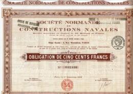 50-CONSTRUCTIONS NAVALES. STE NORMANDE DE ... - Shareholdings