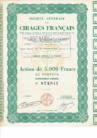 56-CIRAGES FRANCAIS. STE GLE DES ... Voir Texte - Shareholdings