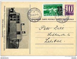 """93 - 44 - Entier Postal """"Bureau Téléphonique Automobile"""" Avec Oblit Spéciale 1er Bureau De Poste Automobile 1937 - Entiers Postaux"""