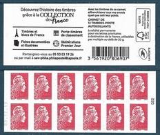 C - Marianne L'Engagée Prio - Découvrez L'histoire Des Timbres Collection De France Date En Bas 038 (2020) Neuf** - Usados Corriente