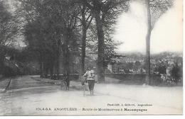 16     Angouleme   Route De Montmoreau à Macampagne - Angouleme