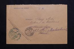 FRANCE - Enveloppe En FM De Mamers Pour Paris En 1909 - L 62143 - Storia Postale