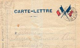CL- - 2 Drapeaux - - Storia Postale