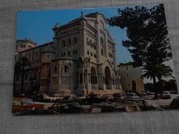 Principauté De Monaco - La Cathédrale - Voitures Des Années 60 - - Kathedrale Notre-Dame-Immaculée