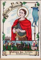 BD014 BARRE DAYEZ 1309 O Dépot Légal 1945-4 N°575 - SAINT St MAURICE Patron Des Soldats-Teinturiers Les SAINTS PATRONS - Voornamen