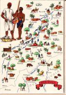 BD004 SOUDAN Région EST A.E.F Tombouktou Sikasso  - Série Carte Géographique BARRE DAYEZ 1326-K Dépot 1945 CPSM - Illustratori & Fotografie