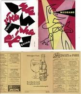 CIRQUE MEDRANO Livret De 40 Pages+ Dépliant: Les Spectacles De Paris Du 27/02 Au 5 /03 1957 - Programmes