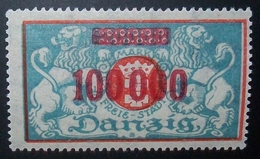 N°1085E BRIEFMARKE DEUTSCHES REICH DANZIG NEU OHNE FALZ - Dantzig