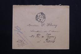 FRANCE  - Enveloppe De La Direction Des Postes De L'Orne Pour Un Sénateur à Paris En 1908 En Franchise Postale - L 62148 - Storia Postale