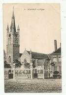 Stavele (Belgique) L'église - Alveringem
