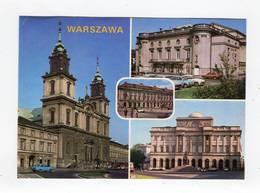 C.P °_ Pologne-Warszawa (Varsovie)- Multivues Cinq Photos-1992 - Pologne