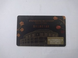 China Gift Cards, Starbucks, 1000 RMB, 2017, (1pcs) - Cartes Cadeaux