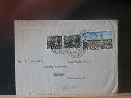 A13/350 LETTER KENYA  VENTE RAPIDE A 1 EURO - Kenia (1963-...)