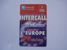 Carte Prépayée Française Intercall ( Neuf Non Gratter ). - Prepaid-Telefonkarten: Andere