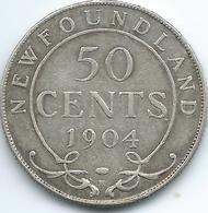 Newfoundland - Edward VII - 1904 - 50 Cents - KM11 - Canada