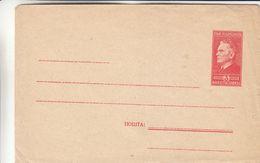 Yougoslavie - Lettre De 1949 - Entier Postal - Tito - Format 155 X 100 - Covers & Documents