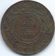 Newfoundland - George V - 1913 - 1 Cent - KM16 - Canada