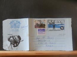A13/358  FRONT OF AEROGRAMME  KENYA  VENTE RAPIDE A 1 EURO - Kenia (1963-...)