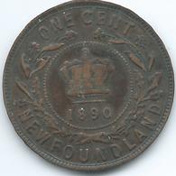 Newfoundland - Victoria - 1890 - 1 Cent - KM1 - Canada