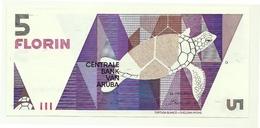Aruba - 5 Florin 1990 - Aruba (1986-...)