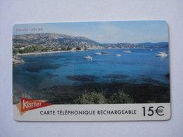 Carte Prépayée Française Kertel ( Utilisée ). - Prepaid Cards: Other