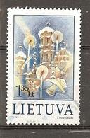 Lithuania 1999 Noel Christmas Obl - Lithuania