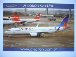 Avion / Airplane / VARIG / Boeing B737-8AS / Registered As PR-VBE / Airline Issue - 1946-....: Ere Moderne
