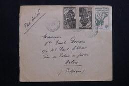 A.O.F. - Affranchissement Plaisant Sur Enveloppe Pour La Belgique En 1946 - L 62166 - Lettres & Documents