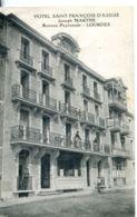 N°9637 -cpa Hôtel Saint François D'Assise -Lourdes- Joseph Marthe- - Hotels & Gaststätten