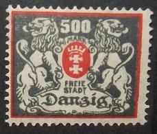 N°2262H BRIEFMARKE DEUTSCHES REICH DANZIG NEU OHNE FALZ - Dantzig