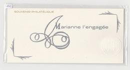 """FRANCE - Bloc Souvenir N° 145 - Neuf Sous Blister - """" Marianne L'engagée """" - - Souvenir Blocks"""