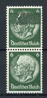 Deutsches Reich MiNr. 516 Postfrisch MNH Farbübersättigung Im Senkr. Paar (O476 - Errors And Oddities