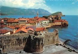 MONTENEGRO - BUDVA - POGLED NA BUDVU I STARE ZIDINE - Montenegro