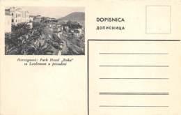 "MONTENEGRO - HERCEGNOVI: PARK HOTEL ""BOKA"" SA LOVCENOMU POZADINI - Montenegro"