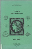 Jean POTHION  - FRANCE OBLITERATIONS - 1849 / 1876 - EDITION De  1978 - Filatelia E Storia Postale