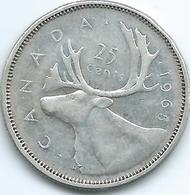 Canada - Elizabeth II - 1965 - 25 Cents - KM62 - Canada