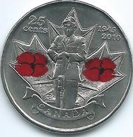 Canada - Elizabeth II - 25 Cents - 2010 - Remembrance - KM1028 - Canada