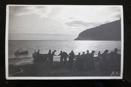 1908 Genova, Genoa Card, Sunset Fisherman Scene, B+W - Genova (Genoa)
