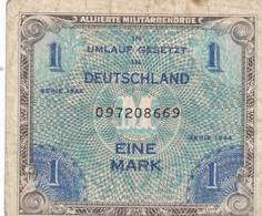 Billet   Allemand De 1 Mark  1944 - Armi Da Collezione