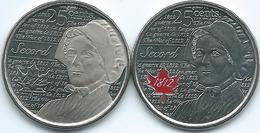 Canada - Elizabeth II - 25 Cents - 2013 - War Of 1812 - Laura Secord (KMs 1700 & 1700a) - Canada