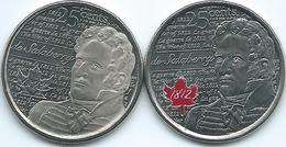 Canada - Elizabeth II - 25 Cents - 2013 - War Of 1812 - Colonel De Salaberry - Canada