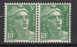 France: 1945/47. Y&T  N° 716A X 2 **, MNH, Neuf(s). Cote Y&T 2020 : 4,60 € - France
