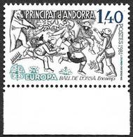 ANDORRE  1981 -  YT 292 - Europa Ball De L'Ossa - NEUF** Bord De Feuille   - Cote  2e - Andorra Francese