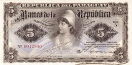 PARAGUAY P. 156 5 P 1907 UNC - Paraguay