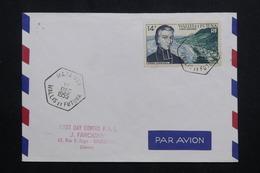 WALLIS ET FUTUNA - Enveloppe FDC En 1955 - Pere Chanel - L 62184 - FDC
