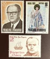 Andorra Spanish 1983 3 Commemorative Sets MNH - Andorra Spagnola