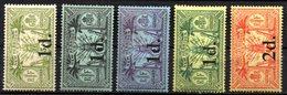Col17  Colonie Nouvelles Hebrides N° 64 à 68  Neuf X MH  Cote 88,50€ - Unused Stamps